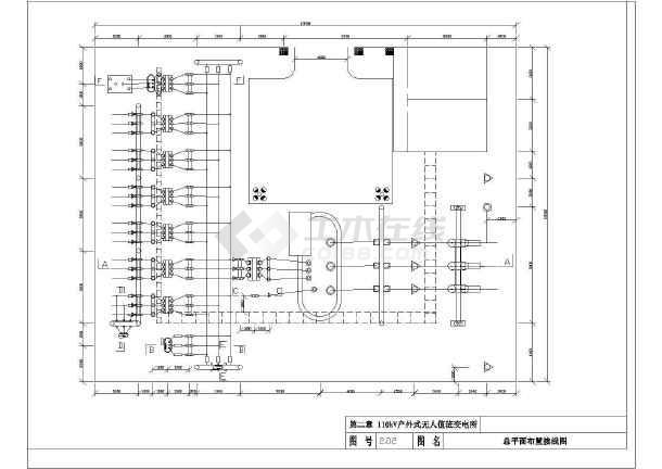 35-110KV变电工程电气设计施工通用图集-图2