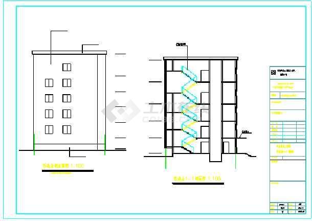 多层砌体结构工行加固改造设计方案图-图2