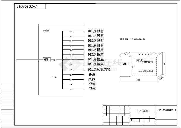 某地科学城某厂区电气设计施工图-图2