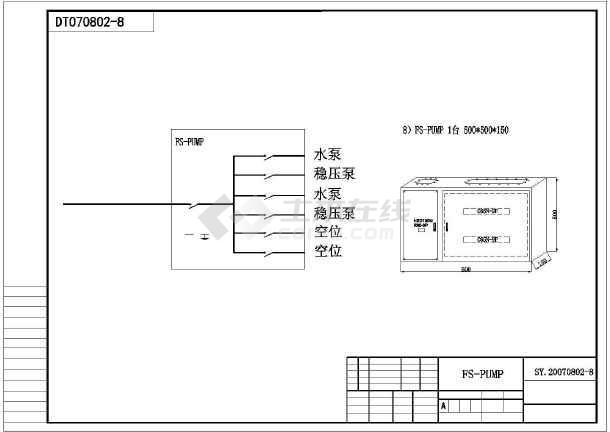 某地科学城某厂区电气设计施工图-图3