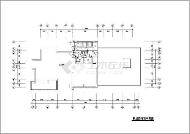 高层住宅楼电气cad全套设计施工图纸-图2
