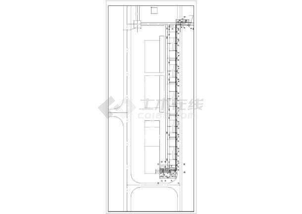 架空蒸汽管道给排水图纸-图3