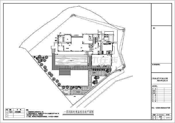 别墅装修智能家具电气弱电cad施工图纸-图3