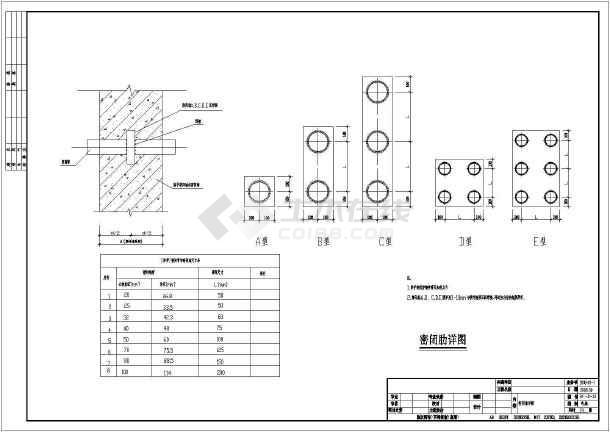 某防空人防地下室整套电气cad施工设计图-图3
