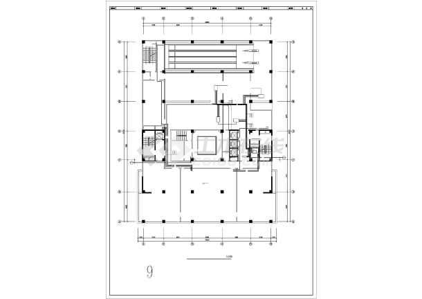高层酒店给排水系统图纸-图1