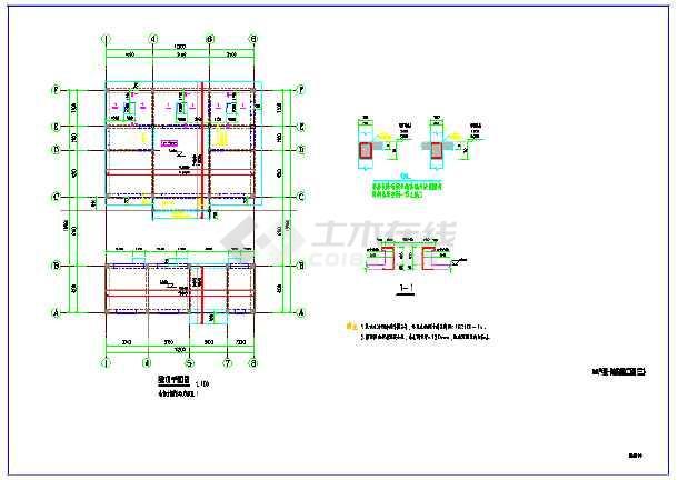 某单层房屋砌体结构图纸-图2