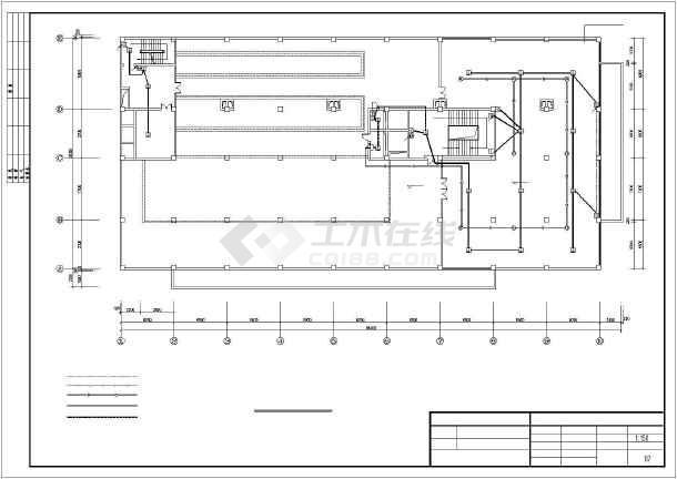 某地小型酒店电气设计施工图-图3