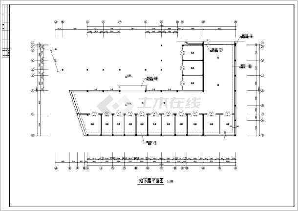 7层商务住宅楼整套建筑设计cad施工图-图2
