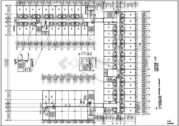 某星级大酒店全套电气设计cad施工图-图1