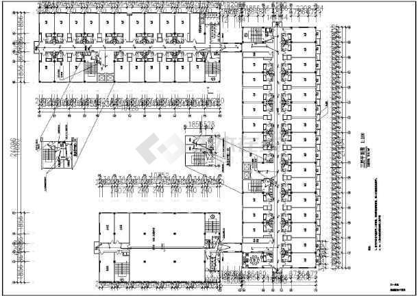 某星级大酒店全套电气设计cad施工图-图2