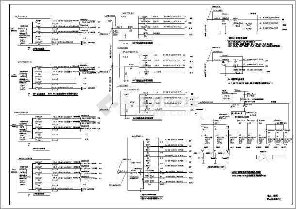某星级大酒店全套电气设计cad施工图-图3