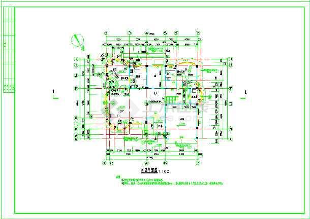 非常齐全的别墅建筑结构全套图纸-图2