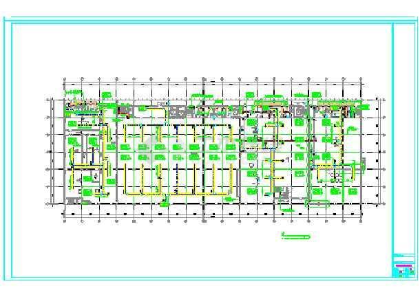 某食品厂5层建筑消防排烟图纸全套-图2