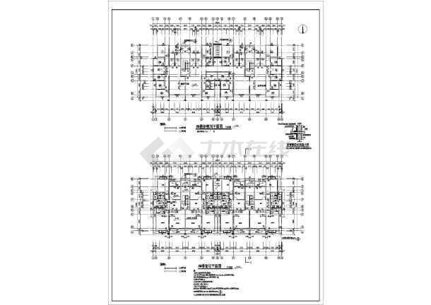 东方塞纳住宅建筑施工图(共8张)-图2
