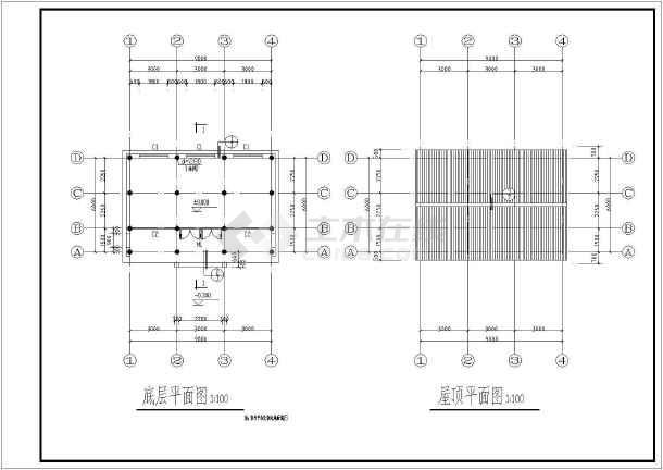 非常受欢迎的古建筑建筑施工图-图1