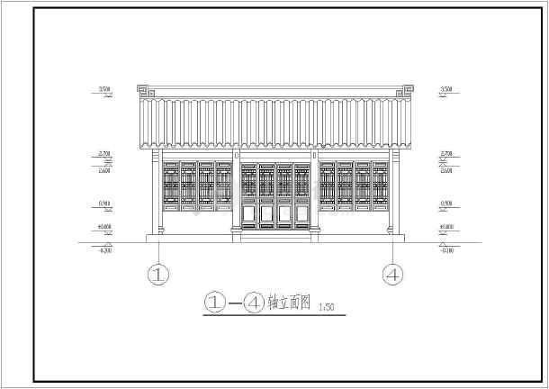 非常受欢迎的古建筑建筑施工图-图3