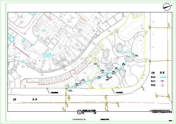 东湖一号公共区域景观提升工程(景观给排水)-图1