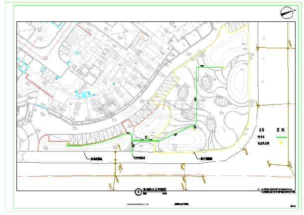 东湖一号公共区域景观提升工程(景观给排水)-图2