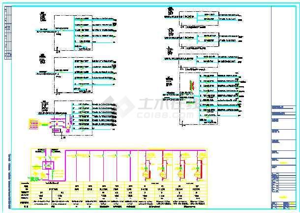 某综合楼地下室电气设计(含人防)-图1
