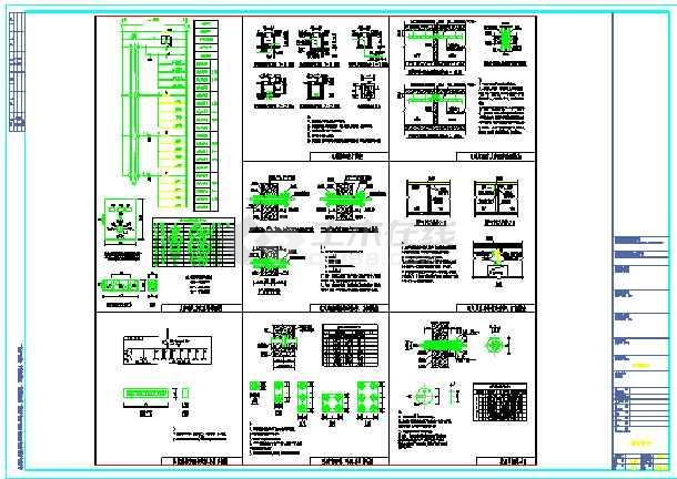 某综合楼地下室电气设计(含人防)-图2