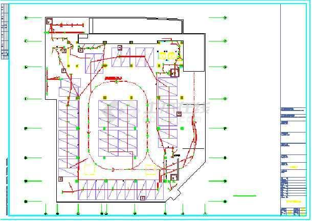 某综合楼地下室电气设计(含人防)-图3