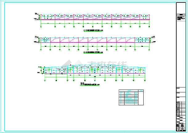 嘉立荷63.8X69米牛舍结构图-图1