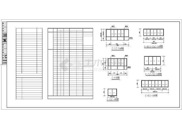 多层住宅建筑施工cad图(全套)-图2