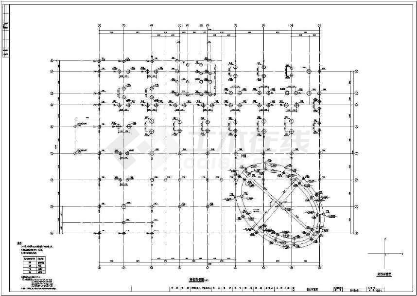 某地12层框剪商用综合楼结构设计图-图2