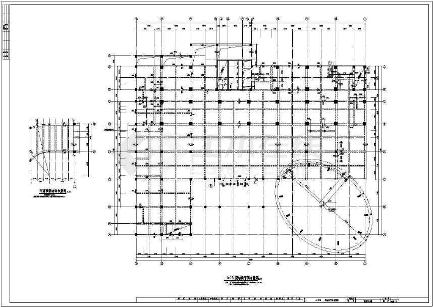 某地12层框剪商用综合楼结构设计图-图3