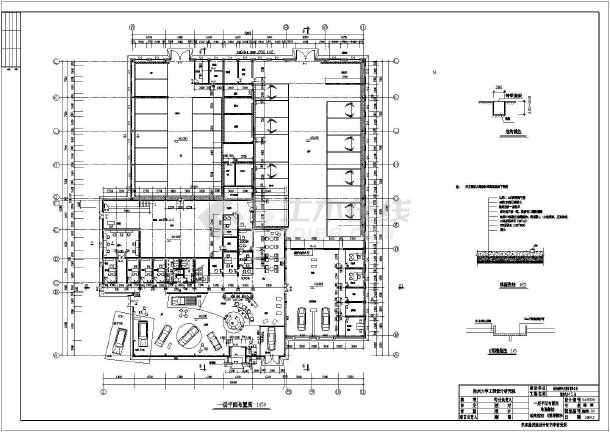 某地福特4S店建筑设计图-图3