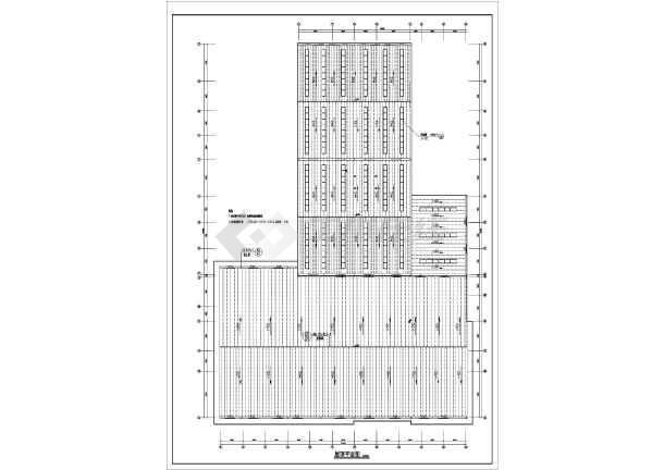 某地宝马4S店建筑设计图-图2