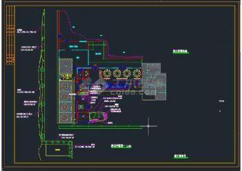 【坐标v坐标】驿站集装箱酒店绿化工程CAD图wps成转换cad植物图片