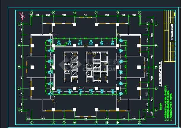 高层办公楼暖通通风空调施工-图1