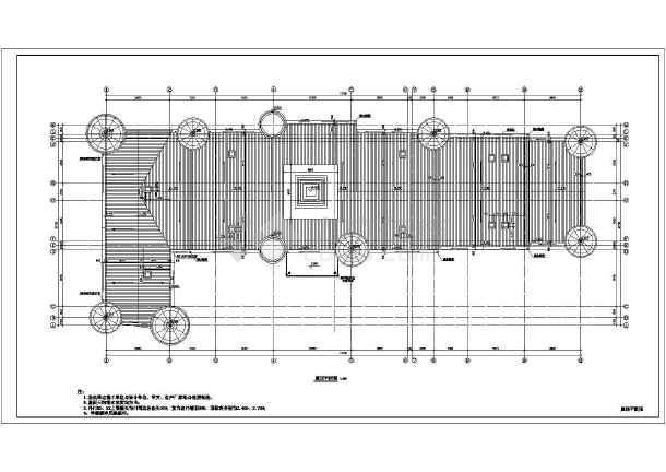 某小学教学楼平面建筑设计图-图3