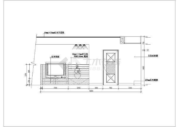 近百套室内客厅装修设计cadv客厅图纸专用章报审图纸北京图片