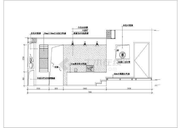 近百套室内客厅装修设计cad分析图纸聚财施工图纸八方图片