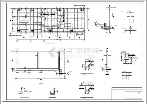 循环水池结构图纸