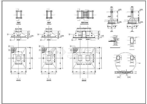 某框架钢结构厂房结构施工图纸