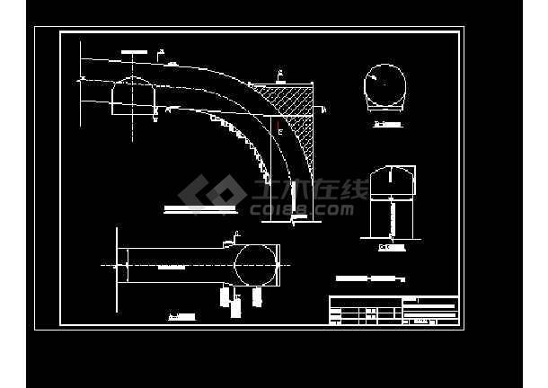 图纸主要包括:反井钻安装吊顶布置结构图,反井钻施工平面布置图,反井