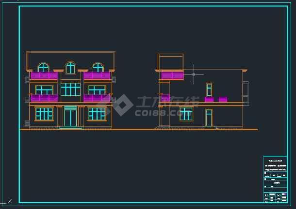 独栋别墅施工图,含结构施工图和造价成本-图2