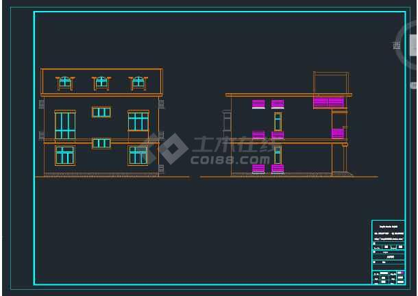 独栋别墅施工图,含结构施工图和造价成本-图3