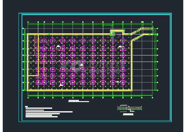 地下车库抗浮失效后结构构件及地基基础加固-图1
