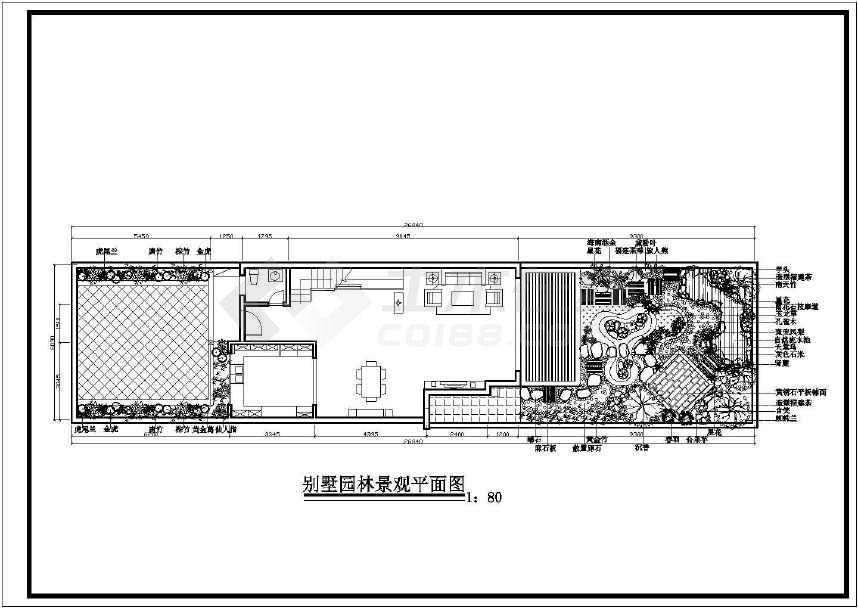 别墅园林景观建筑图-图2