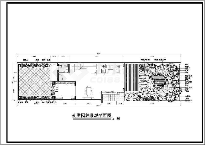 别墅园林景观建筑图-图3