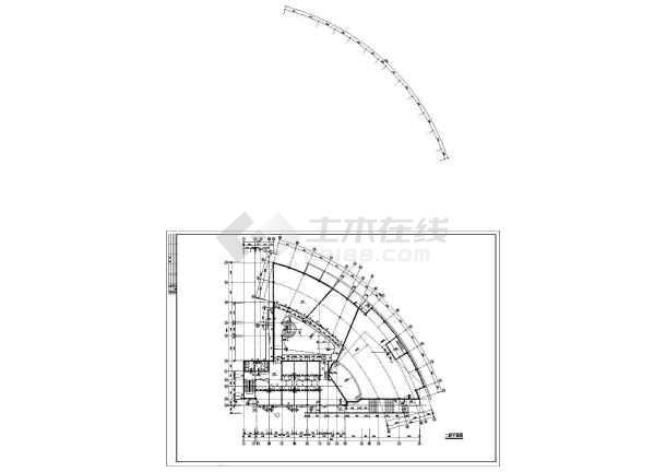 某高校行政楼建筑CAD设计施工图-图3