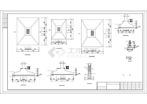 某排架厂房建筑结构图纸