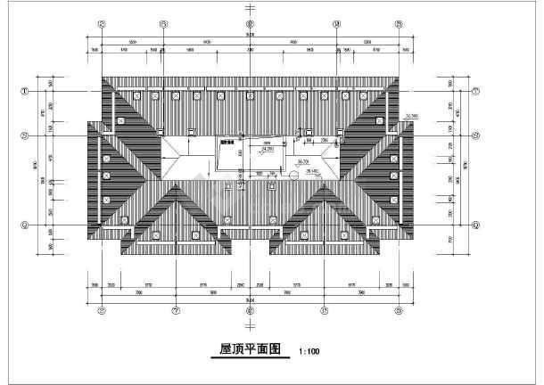 某沿街小高层建筑CADv图纸图纸autocad模型怎么画图片