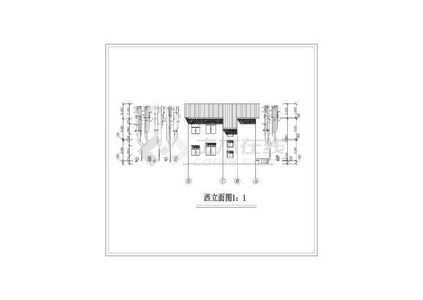 家庭小别墅建筑设计图-图1