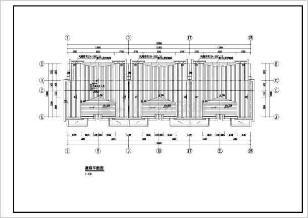某地区一套多层住宅建筑图-图3