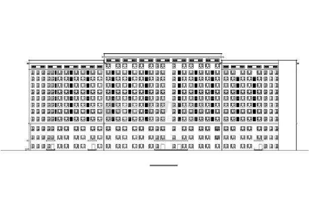 五星酒店公共建筑施工图-图3